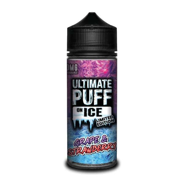 On Ice Grape & Strawberry Shortfill by Ultimate Puff