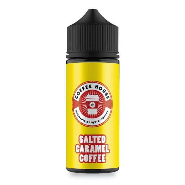 Salted Caramel Coffee Shortfill by Coffee House