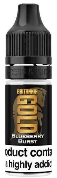 Blueberry Burst Regular 10ml by Britannia Gold