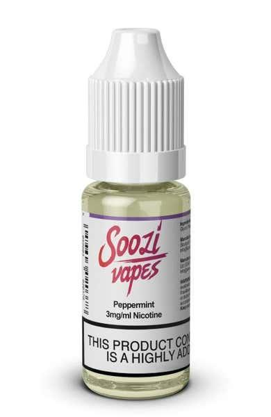 Peppermint Regular 10ml by Soozi Vapes
