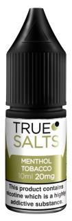True Salts Menthol Tobacco Nicotine Salt