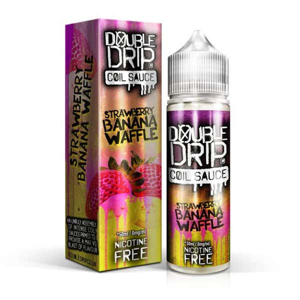 Strawberry Banana Waffle Shortfill by Double Drip