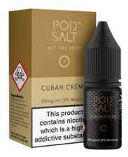 Cuban Creme Nicotine Salt by Pod Salt
