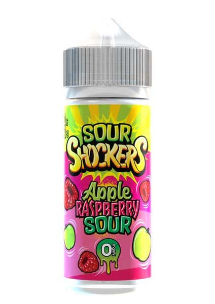 Apple & Raspberry Sour Shortfill by Sour Shockers