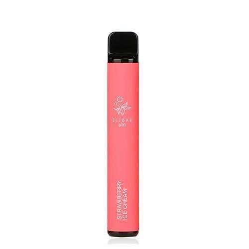Strawberry Ice Cream Disposable by Elf Bar