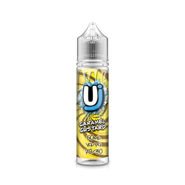 Caramel Custard Shortfill by Ultimate Juice