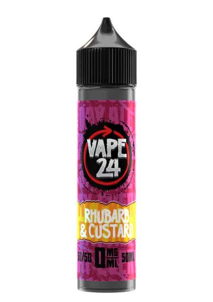 Rhubarb & Custard Shortfill by Vape 24
