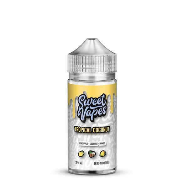 Tropical Coconut Shortfill by Sweet Vapes