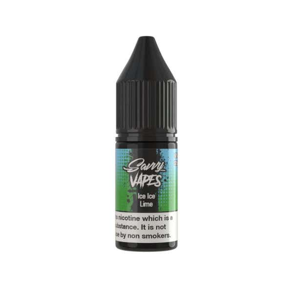 Ice Ice Lime Regular 10ml by Savvy Vapes