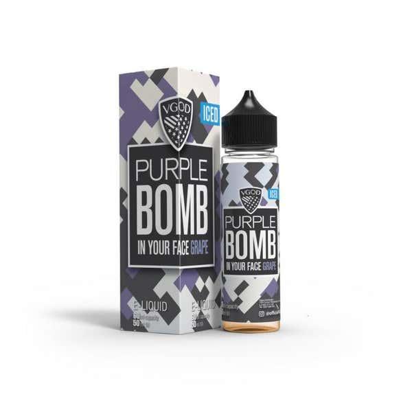 Iced Purple Bomb Shortfill by VGOD
