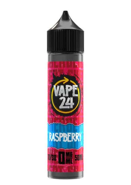 Sherbet Raspberry Shortfill by Vape 24