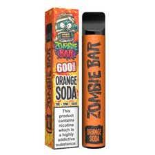 Orange Soda Disposable by Zombie Bar