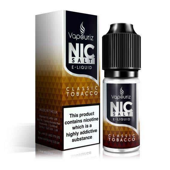 Classic Tobacco Nicotine Salt by Vapouriz