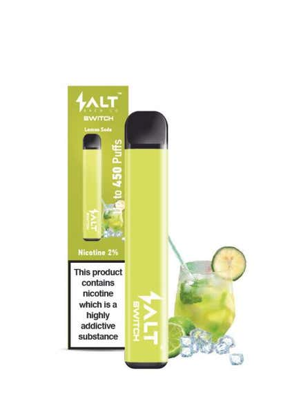 Lemon Soda Disposable by Salt Switch