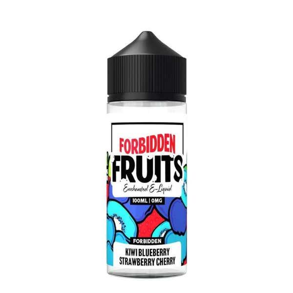 Kiwi Blueberry Strawberry Cherry Shortfill by Forbidden Fruits