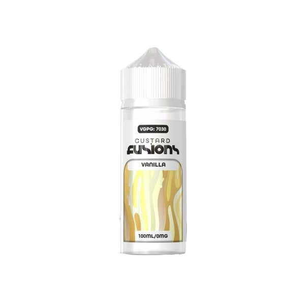 Vanilla Custard Shortfill by Custard Fusion