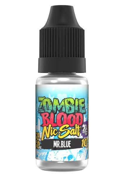Mr Blue Nicotine Salt by Zombie Blood