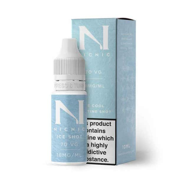 Nicotine Ice Shot Regular 10ml by Nic Nic