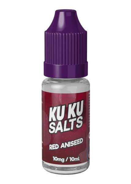 Red Aniseed Nicotine Salt by Kuku
