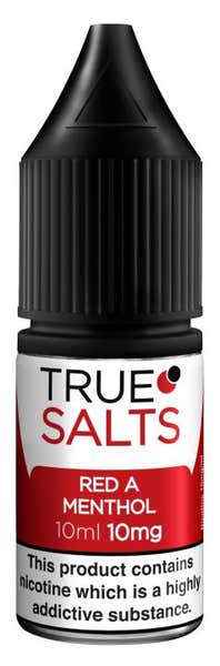 Red A Menthol Nicotine Salt by True Salts