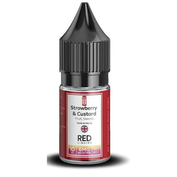 Strawberry & Custard Regular 10ml by RED
