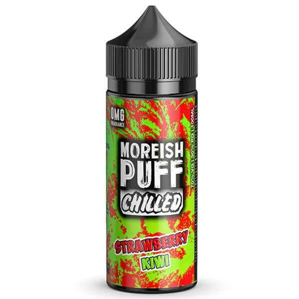 Strawberry & Kiwi Chilled Shortfill by Moreish Puff
