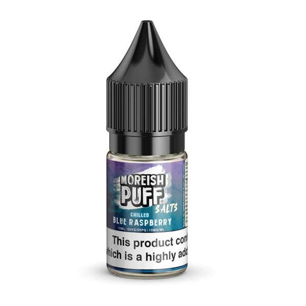 Blue Raspberry Chilled Nicotine Salt by Moreish Puff