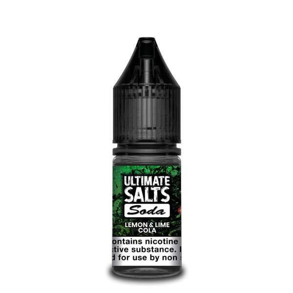 Soda Lemon & Lime Cola Nicotine Salt by Ultimate Puff