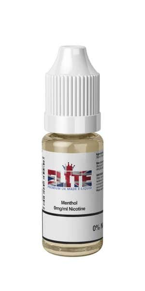 Menthol Regular 10ml by Elite Liquid