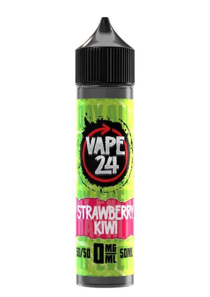 Strawberry & Kiwi Shortfill by Vape 24