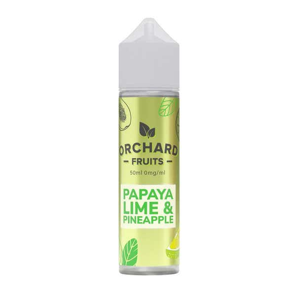 Papaya, Lime & Pineapple Shortfill by Orchard Fruits