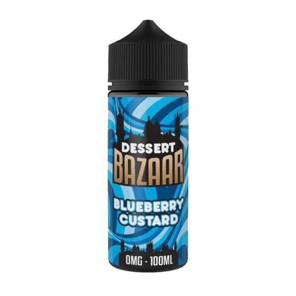 Blueberry Custard Shortfill by Bazaar