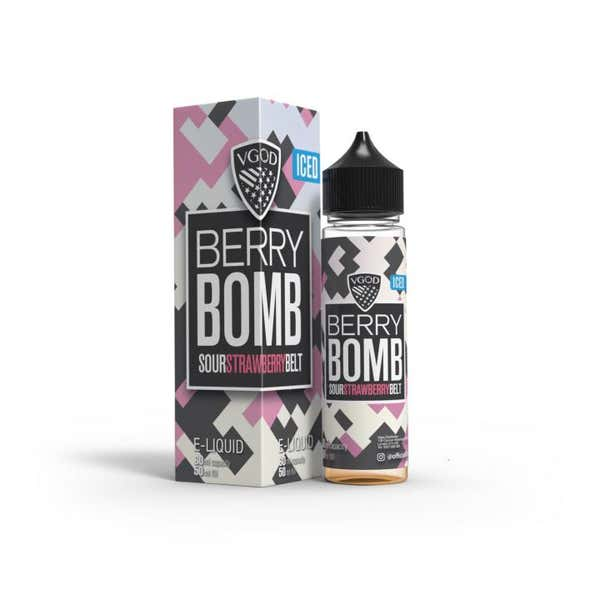 Iced Berry Bomb Shortfill by VGOD