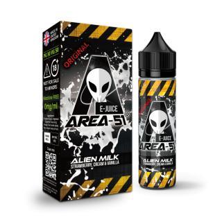 Area 51 Alien Milk Shortfill