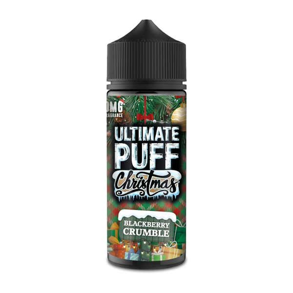Blackberry Crumble Shortfill by Ultimate Puff