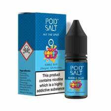 Bubble Blue Nicotine Salt by Pod Salt
