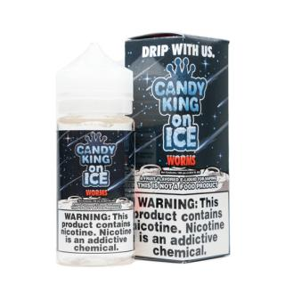 Candy King Sour Worms On Ice Shortfill