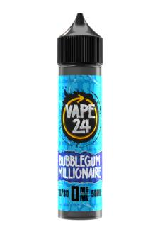 Vape 24 Sweets Bubblegum Millionaire Shortfill