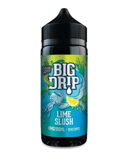 Lime Slush Shortfill by Big Drip