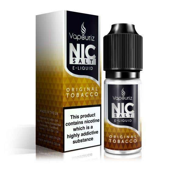 Original Tobacco Nicotine Salt by Vapouriz