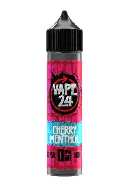 Cherry Menthol Shortfill by Vape 24