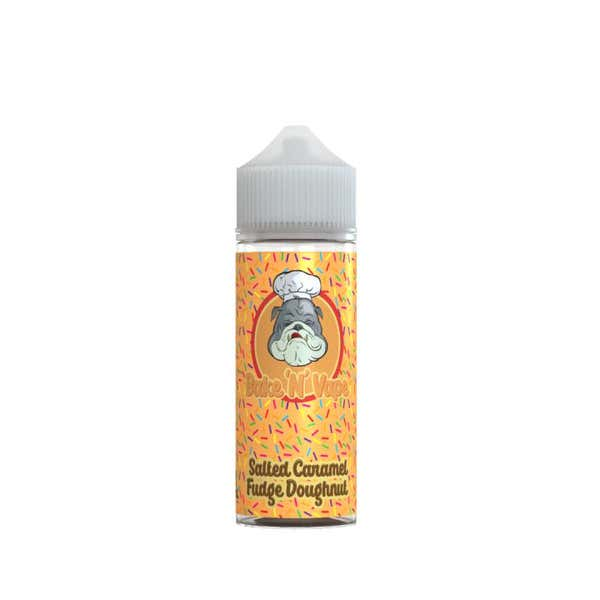 Salted Caramel Fudge Doughnut Shortfill by BakeNVape