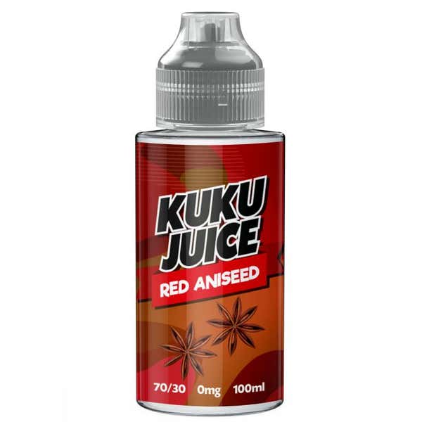 Red Aniseed Shortfill by Kuku Juice