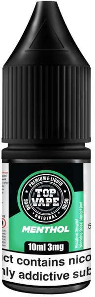 Menthol Regular 10ml by Top Vape