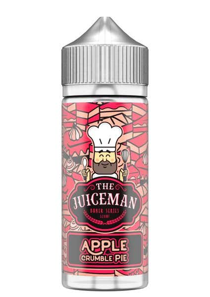 Apple Crumble Pie Shortfill by The Juiceman