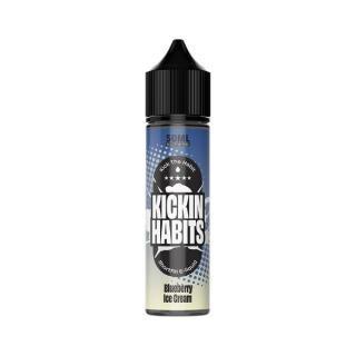 Kickin Habits Blueberry Ice Cream Shortfill