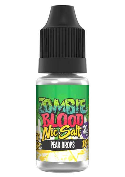 Pear Drops Nicotine Salt by Zombie Blood