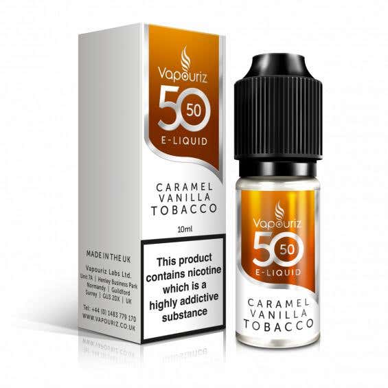 Caramel Vanilla Tobacco Regular 10ml by Vapouriz