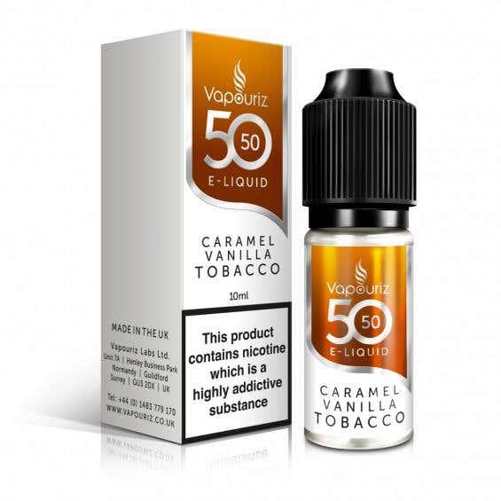 Caramel Vanilla Tobacco Regular 10ml by Vapouriz