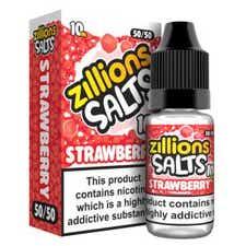 Strawberry Nicotine Salt by Zillions